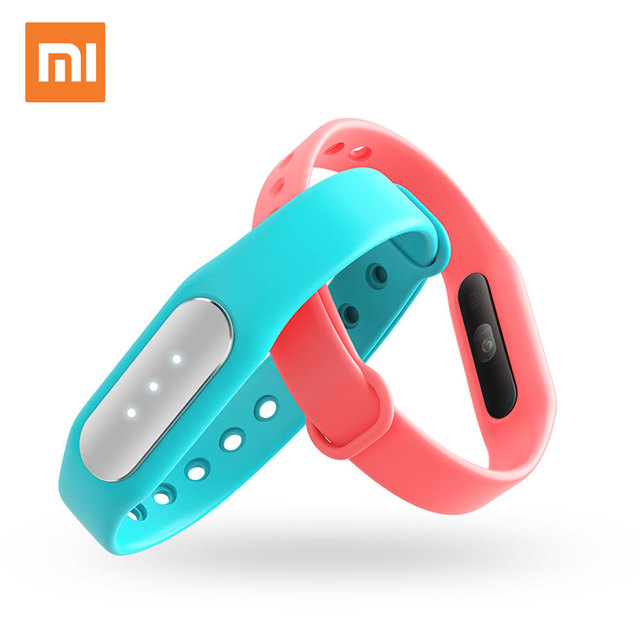 Original Xiaomi Mi Band 1S Heart Rate Monitor Pulse Fitness Bracelet Smart Wristband Miband Fitness Tracker Android Smartband