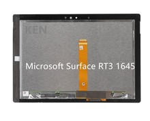 "10.8"" New Original For Microsoft Surface 3 1645 RT3 Lcd display Touch screen digitizer Assembly panel Replacment"