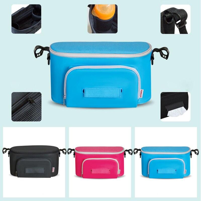 HTB1FwtAelCw3KVjSZFlq6AJkFXae Diaper Bag Baby Stroller Organizer Hanging Nappy Bag Large Capacity Travel Backpack Pram Buggy Cart Waterproof Maternity Bag