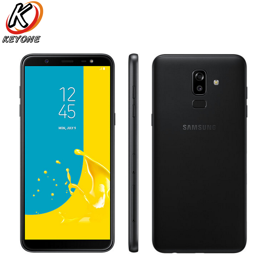 """New Samsung Galaxy J8 J810Y-DS 4G LTE Mobile Phone 6.0"""" 3GB RAM 32GB ROM OctaCore 1.8GHz Dual Rear Camera Android Dual SIM Phone"""