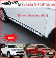 running board foot pedal side step nerf bar for Mitsubishi Outlander 2013 2017,CXK genuine,full refund if can not stand 4persons