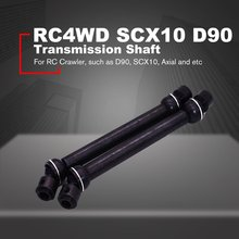 2PCS 1/10 Remote Control Model Shaft Drive Axle Transmission Shaft 112mm to 152mm For RC Crawler Car Axial SCX10 RC4WD D90 недорого