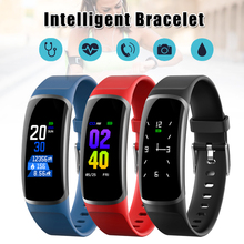 Smart Watch Heart Rate Blood Pressure Detector Sports Watch IP67 Waterproof Bluetooth Bracelet SP99 цена 2017