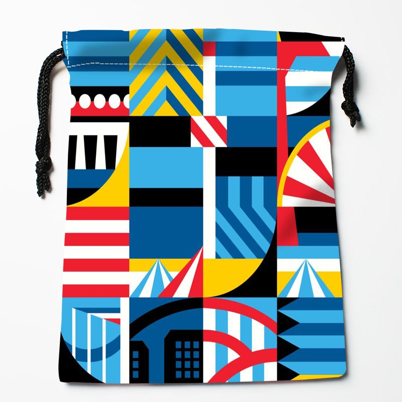 Custom Pattern Bags Custom Printed Gift Bags More Size 27x35cm Compression Type Bags