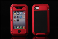 Premium Protection For Apple IPhone 4 4S Extreme Carrying Case Shockproof Weatherproof Military Heavy Hard Phone