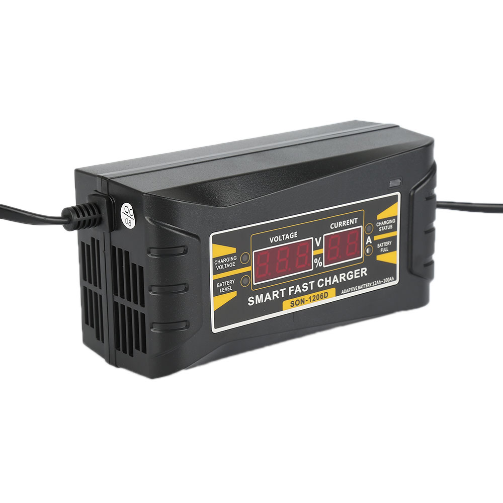 12v 6a Car Battery Charger Intelligent Charger For Wet Dry