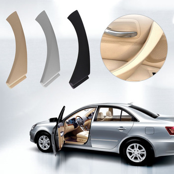 1Pcs Left Side Inner Door Panel Handle Pull Trim Cover for BMW E90 E91 3 Series Black Beige Grey Interior Door Handles Promotion image