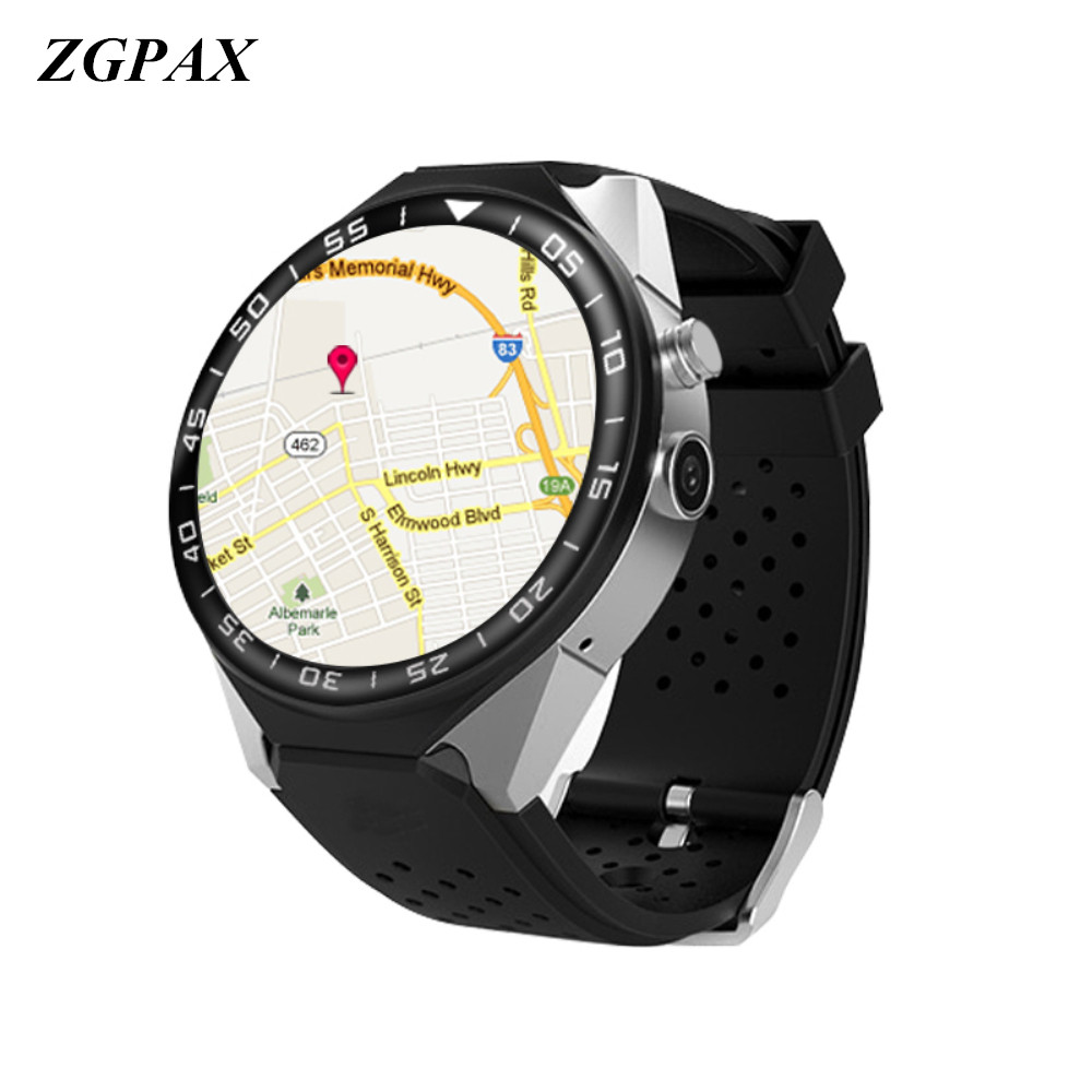 все цены на ZGPAX S99C Smart Watch Android 5.1 OS 1GB Ram 16GB Rom 5.0 MP MTK6580 Quad Core 3G GPS Wristwatch 1.39