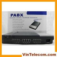 Suministro de fábrica de China  teléfono vintage PBX 3CO líneas en x 8 extensiones para solución de pequeño negocio