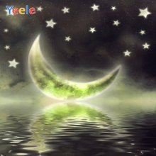 Yeele Photocall Moon Star River Bedroom Painting Photography Backdrops Personalized Photographic Backgrounds For Photo Studio