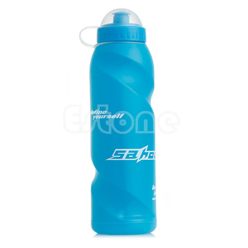 New Outdoor Sports Cycling Camping Bicycle Bike 700ml Sports Water Bottle Blue