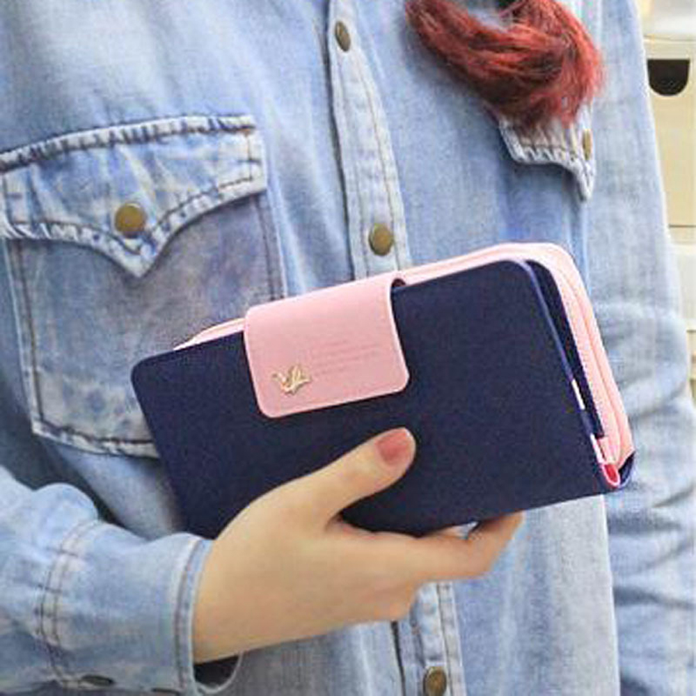 Fashion Clutch Mini Euro Pencil Phone Zipper PU Leather Change For Lady Girl Women Coin Purse Case Wallet Female Bag Pouch Brand fashion women leather wallet clutch purse lady short handbag bag women small purse lady money bag zipper luxury brand wallet hot