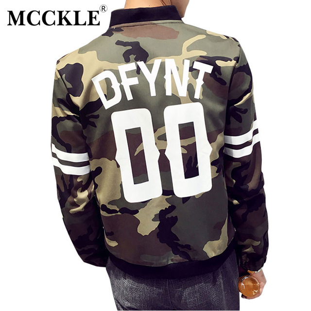 347a121a2a Spring Camouflage Bomber Men Jacket Coat Army Green Zipper Camo Male Baseball  Jackets Coats 2019 Casual Windproof Streetwear 5XL