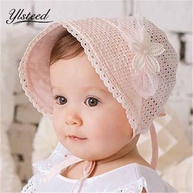 2287a97becf1 3 Mois 18 Mois Bébé Fille Chapeau Nouveau Né Chapeaux Enfants D été ...