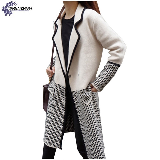 TNLNZHYN new Women wear High end cardigan sweater coat winter fashion loose Big  yards Thicken warm female sweater overcoat QQ469 8ccd7f08e