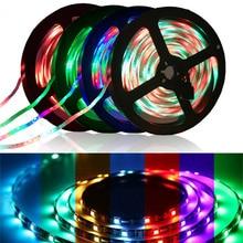 DIGAD 5M 300Leds waterproof RGB Led Strip Light 3528 5050 DC12V 60Leds/M Fiexble Ribbon Tape Home Decoration Lamp