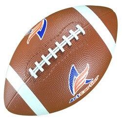 Esportes de Rugby Bolas de Rugby Oficial Tamanho 9 Bola de Rugby Futebol Americano de Borracha Durável Para Crianças brinquedo treinamento ao ar livre