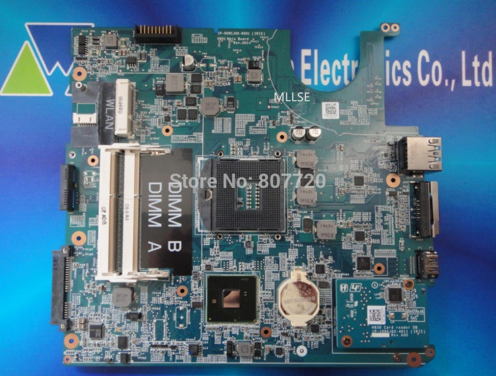 100 brand new and original integrated laptop motherboard for Dell studio 1457 1458 0R27DH