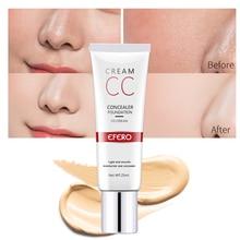 25ml EFERO Professional Base Makeup Cover Face Foundation Concealer Cream Contour Cover Palette Waterproof Face Primer Cosmetic цена