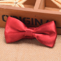 Doctor Who Cosplay 11th Dr Matt Smith Red Bow Tie Boys/Girls Silk-blend Bows for Kids Costume Props
