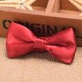 Doctor who cosplay 11ª dr. matt smith red bow tie meninos/meninas de seda-mistura arcos para crianças traje adereços
