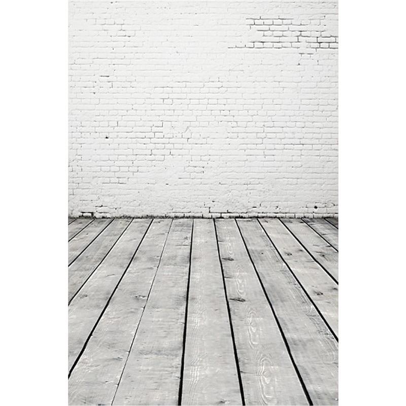 Waterproof Photography Backdrops Photo Props Studio Background baby children wooden Wall Wood Floor vinyl 2.1m x 1.5m цена 2016