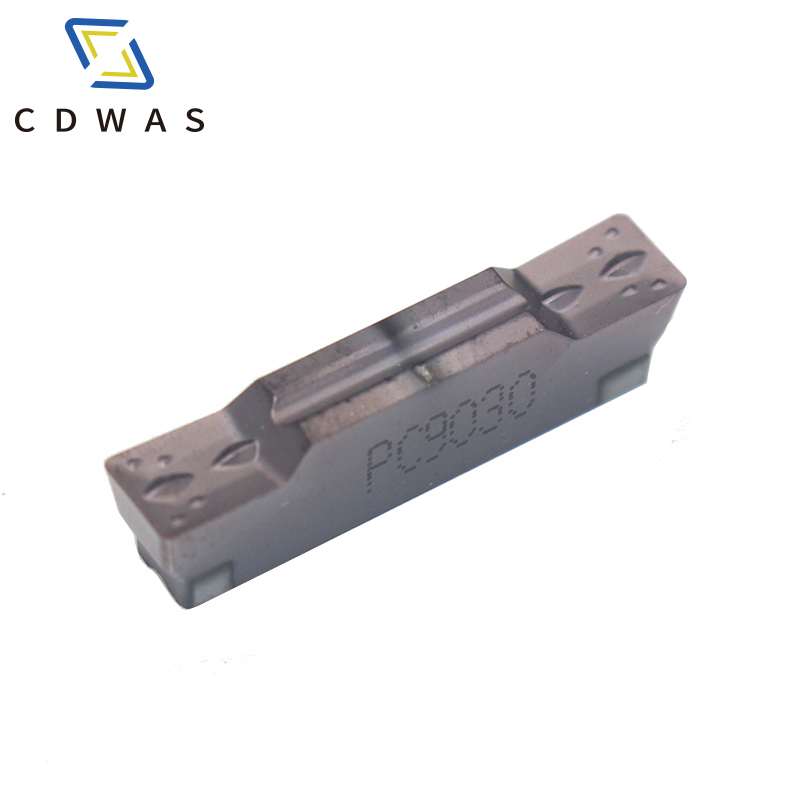 10PCS  MGMN300/400-M NC3020/PC9030/NC3030 grooving carbide inserts lathe cutter turning tool Parting and grooving tool