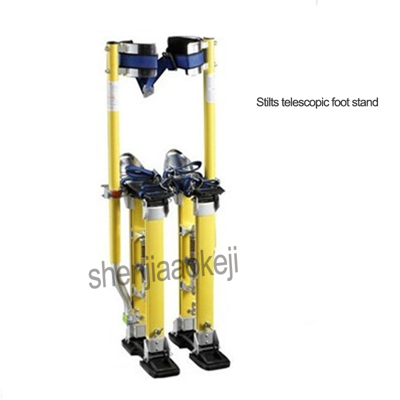 24 40 Aluminum alloy Stilts telescopic foot stand Clown show stage prop high telescopic stand for