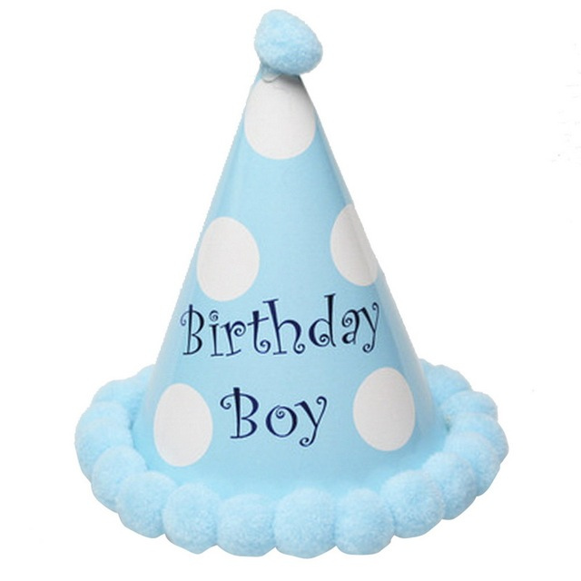 Urijk Cake Happy Birthday Party Hats Cap Adult Kids Princess Crown Hair Decorations Baby Accessory Colorful