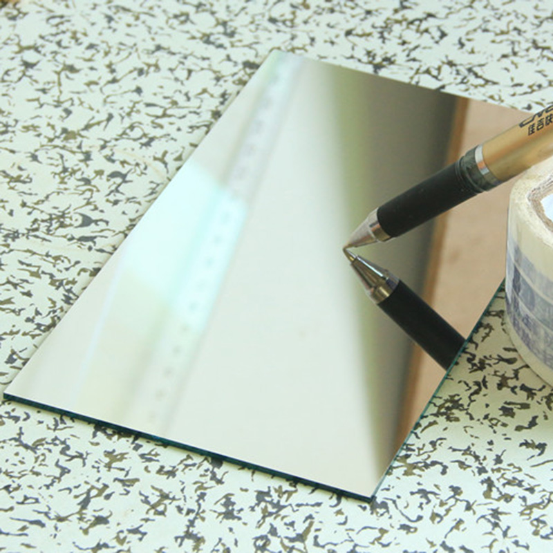 Optik Projektör Reflektör Ayna Ön Yüzey Aynaları DIY Projektör Aksesuarları Yüksek Yansıtma İlk Ayna 150x79x2mm 1 ADET|Lensler|Aletler -