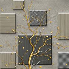 Custom 3D Wallpaper  Simple Abstract Tree Branches
