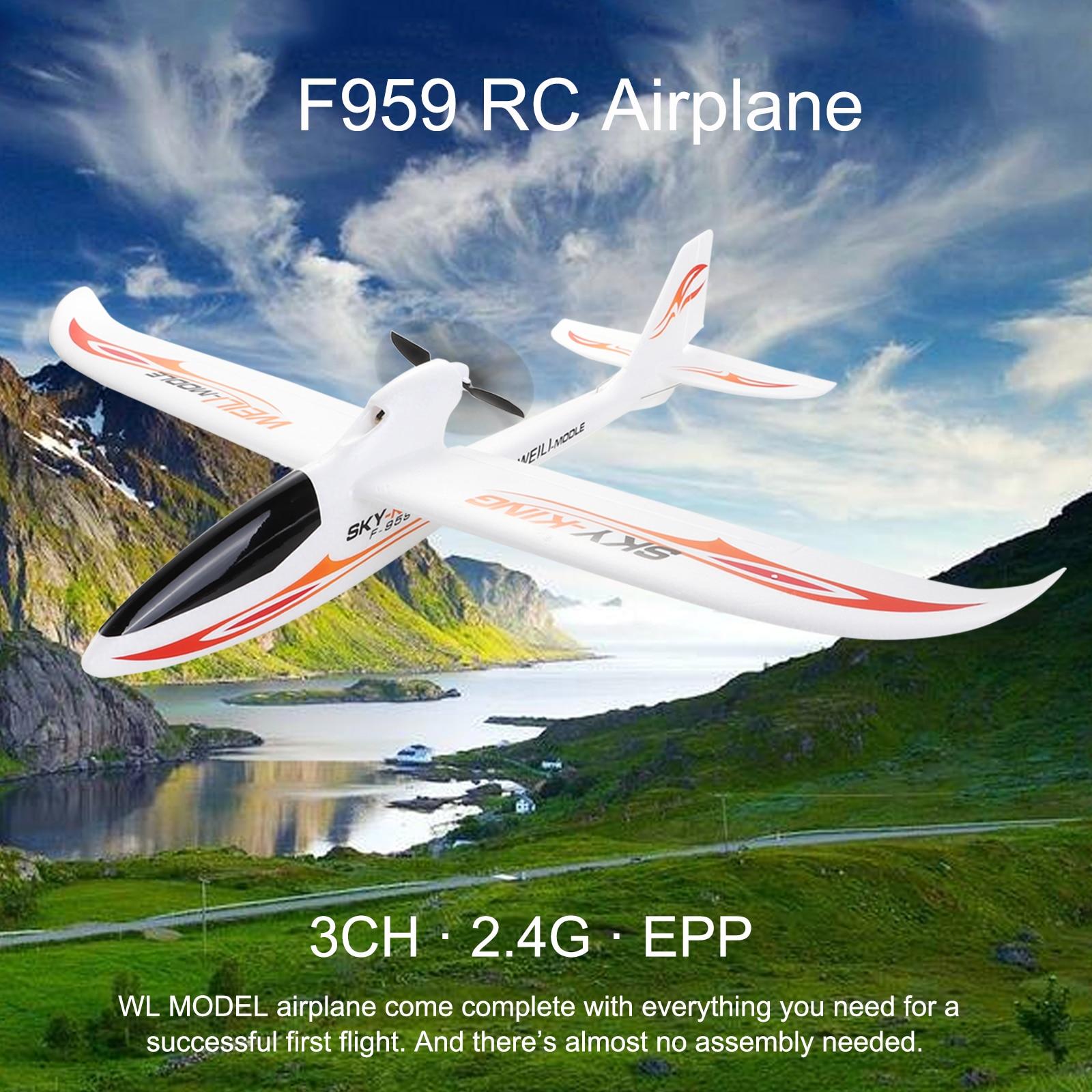 Avion Wltoys F959 FLY 2.4G 3CH RC avion Version RTF aile fixe modèle volant