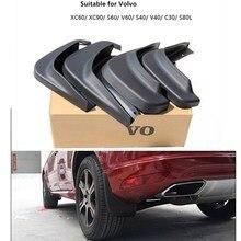 Автомобиль брызговики всплеск гвардии брызговики брызговики для volvo s60 s40 s80l c30 xc60 v40 v60 внешние аксессуары