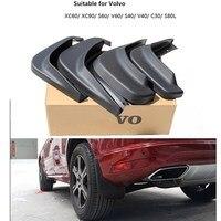 car Mud Flaps Splash Guard Mudguard Fenders for Volvo S60 s40 S80L c30 XC60 V40 V60 exterior accessories