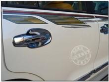 ABS Chrome Car Door Handles Bowl Exterior Door Bowl Cover Trim Car Accessories For Toyota Land Cuiser 200 2006-2015 2016