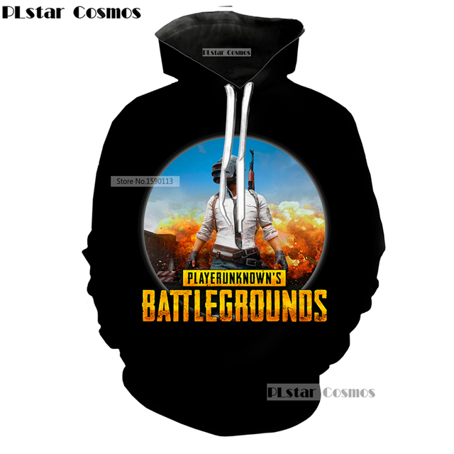 Game PUBG Scenario Hoodies Pullovers Sweatshirts