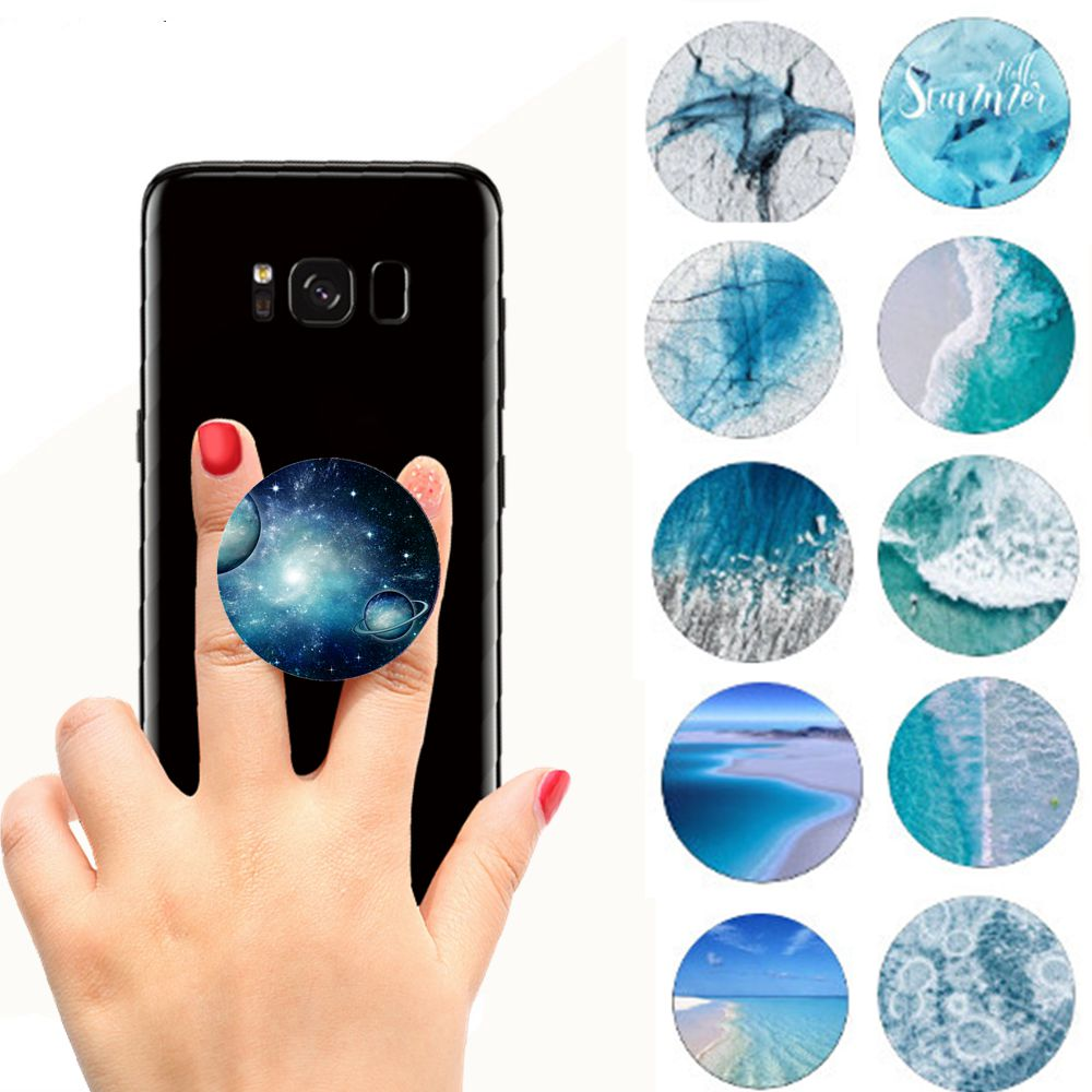 Proelio Finger Round Holder Expanding Stand Ring Pop Phone Holder Pop Grip Mount Pop Holder for iphone Samsung Xiaomi redmi note