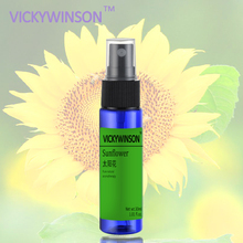 Sun flower Underarm Antiperspirant Spray Body Odor Cleansing Deodorant Spray 30ml magnolia body spray 30ml remove body odor foot odor antiperspirant deodorant spray