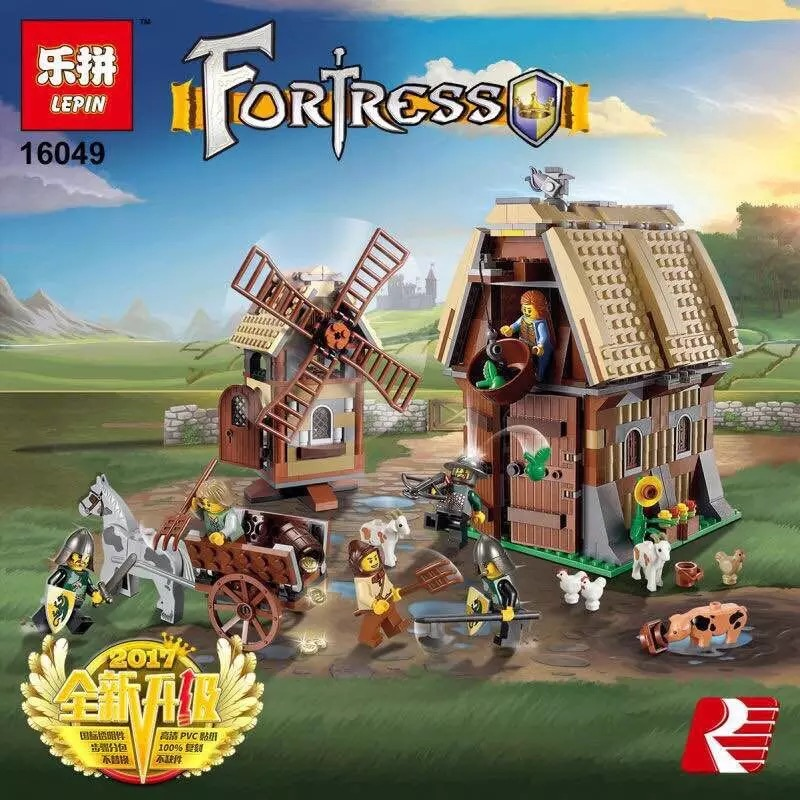 LEPIN Castle Medieval Series The Fortress Figures Building Blocks Compatible Legoe ABS Toys For Children Chrismas Gifts For Kids
