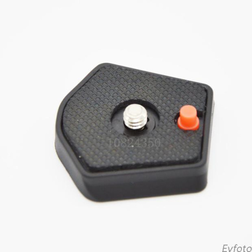 Hot Camera Tripod Monopod Quick Release Plate Adapter for Manfrotto 715B 715SHB 725B 718SHB Tripod 1/4 screw 785pl-14