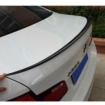 ل BMW 5 سلسلة 520i 528i 535i 530i 525i F10 M5 نمط ألياف الكربون الخلفي الجذع المفسد الجناح 2010 ~ 2015