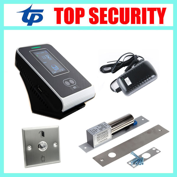 Face recognition time attendance and access control system linux system facial single door access controller with card reader tcp ip biometric face recognition door access control system with fingerprint reader and back up battery door access controller