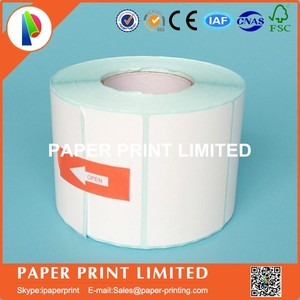 Image 4 - 50 rolls 50 * 30 * 800 Thermal stickers label printing paper supermarket electronic bar code paper