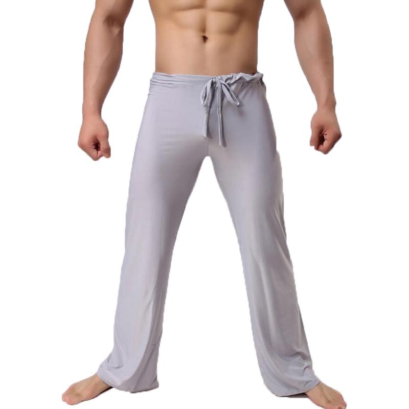 Mens Pants Mens Sleep Bottoms Viscose Home Pants Loose Sexy Mens Lounge  Pants Milk Silk Fashion Strap Sexy Male Pajama Underwear - Best Deal #3924  | Cicig