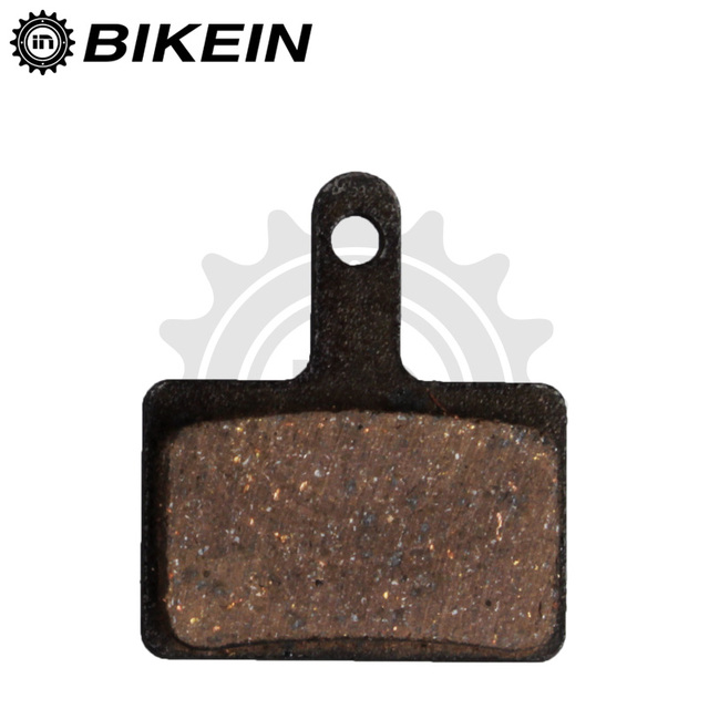 BIKEIN 4 Pairs Bicycle Resin Disc Brake Pads For Shimano M375 M395 M416 M445 M446 M485 M486 M515 M525 Auriga Pro