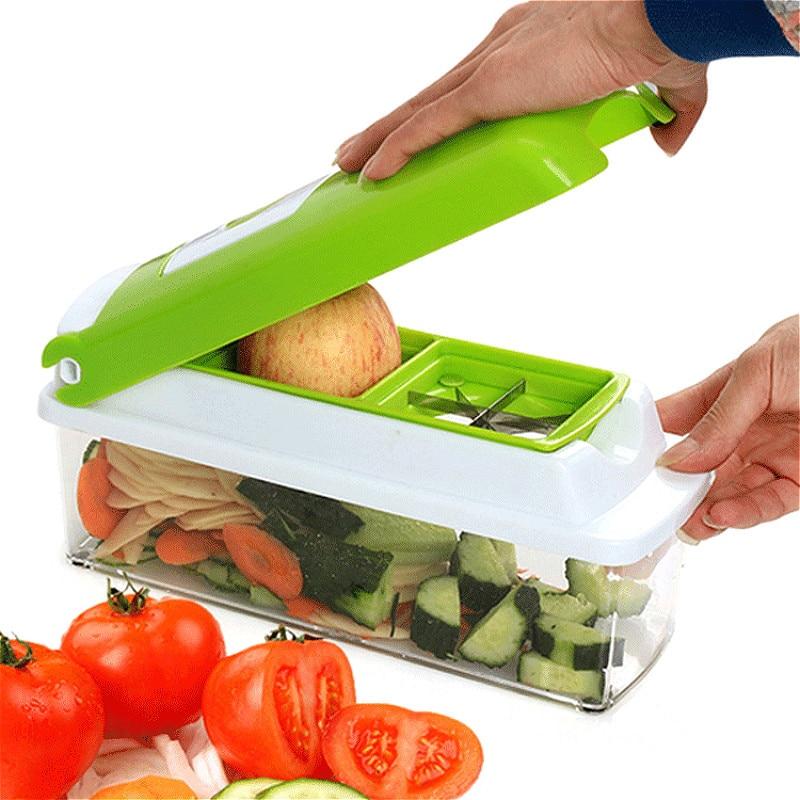 YOMDID 12pcsSet Slicer Vegetable Grater Gadget Cutter Tool