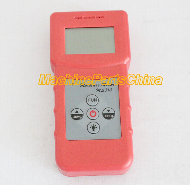 Digital Inductive Wood Moisture Meter tester Timber paper Carton concrete MS310 digital inductive wood moisture meter redwood timber range 0 100%