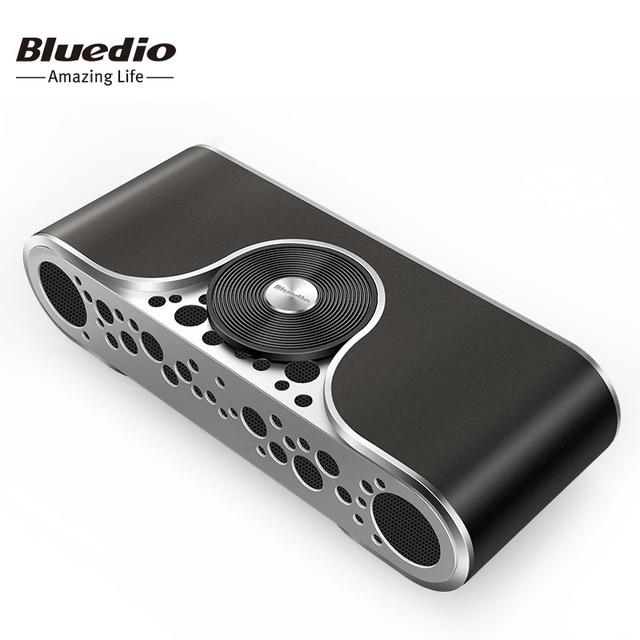 Bluedio TS3 Bluetooth колонки с басом оригинальные беспроводные и переносные колонки с Поддержкой SD карты и Звуковой Системой 3D стерео