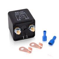KH 12 v 24 v 120A Auto Batterie Schalter Lkw Motor Auf/off Botton Relais Schaltet Automotive Starter Relais 2 Pin Footprint Terminal|Auto-Schalter & Relais|Kraftfahrzeuge und Motorräder -