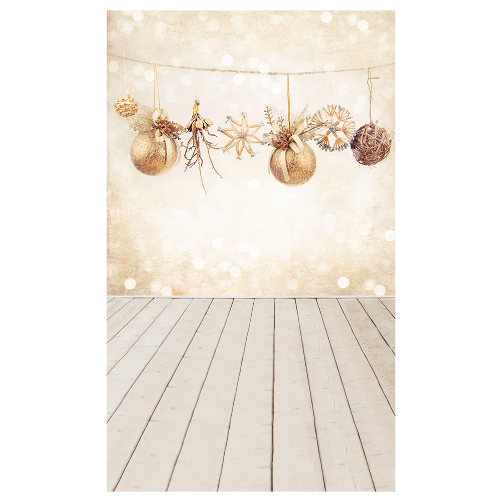 5X7FT 150X210CM vinyl Christmas theme picture cloth custom photography background studio props Wooden floor Christmas ball shengyongbao 300cm 200cm vinyl custom photography backdrops brick wall theme photo studio props photography background brw 12